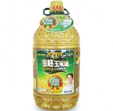 长寿花 金胚玉米油 非转基因 食用油4L 绿色食品认证