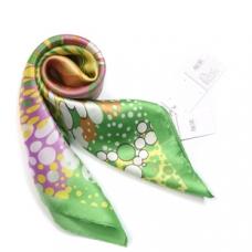 【绫果】品牌桑蚕真丝巾围巾 礼品 新款小方巾