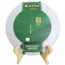 七彩云南 普洱茶(寿系列) 熟茶 357克