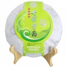 七彩云南 普洱茶 (寿系列) 普洱生茶 357克/片
