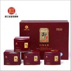 御牌龙井茶叶 西湖龙井茶礼盒装 明前特级绿茶 预售2015新茶春茶200克
