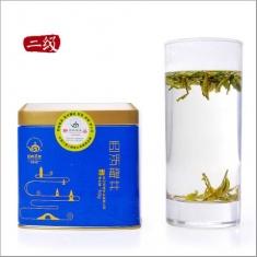 【顶峰】2015 新茶预售 绿茶雨前西湖龙井茶二级罐装 50g