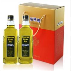 西班牙进口【贝蒂斯】特级初榨橄榄油500ml*2礼盒